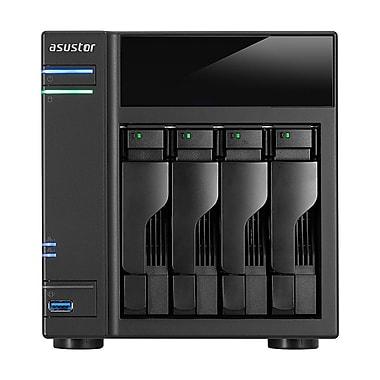 ASUSTOR – Serveur de stockage en réseau de petit bureau sans disque AS61, 4 baies, Intel Celeron bicoeur 1,6 GHz (AS6104T)