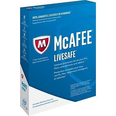 Intel Security - McAfee LiveSafe 2017 Device Attach