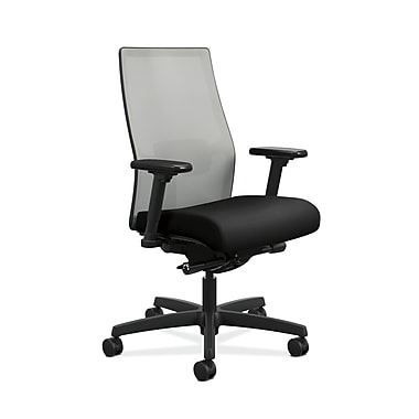 HON Ignition 2.0 Mid-Back Fabric Task Chair, Black NEXT2017
