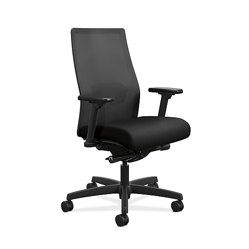 hon ignition 2 0 ilira stretch mesh back task chair black