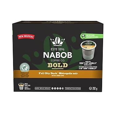 Nabob - Métropolis noir K-Comp 292 g, 30/paquet