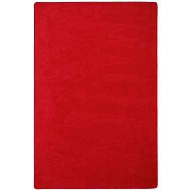 Joy Carpets Endurance, 6' x 6', Red