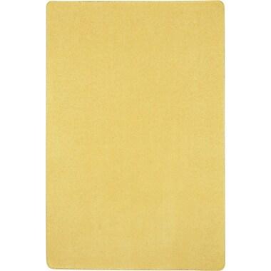 Joy Carpets Just Kidding, 12' x 12', Lemon Yellow