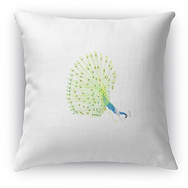 Kavka Peacock Parsvo Throw Pillow