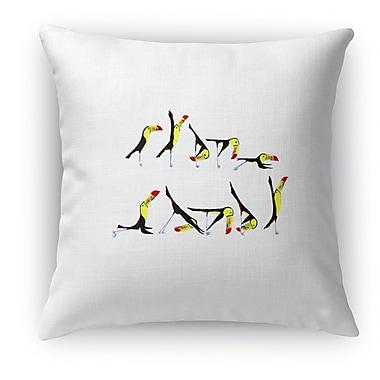 Kavka Toucan Flow Throw Pillow