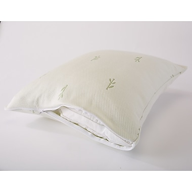 Home Fashion Designs Riley Premium Bamboo Pillow Protector (Set of 2); King