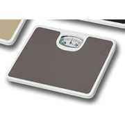 Home Basics Non-Skid Bathroom Mechanical Digital Scale; Gray