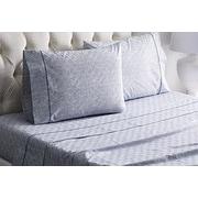 Imagine Home Diamonds Cotton Sheet Set; Queen