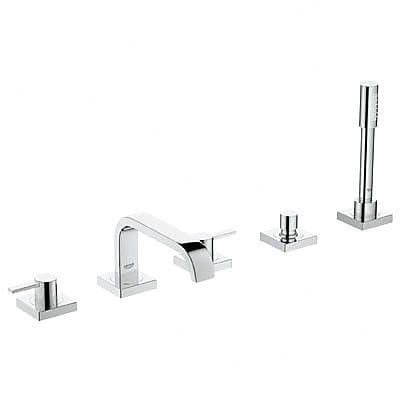 Grohe Allure Two Handle Deck mounted Roman Tub Faucet w/ Hand Shower