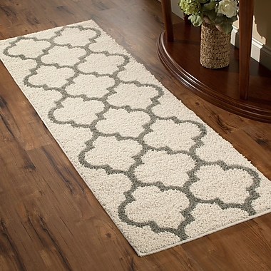 Maples Rugs Marnie Beige Area Rug; Runner 2' x 6'