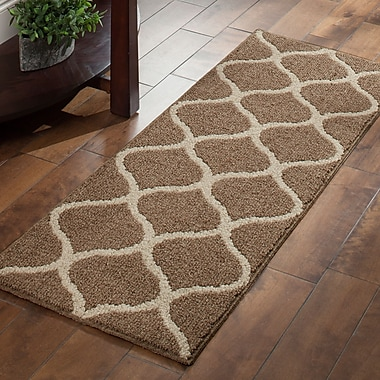 Maples Rugs Carissa Brown Area Rug; Runner 1'9'' x 5'