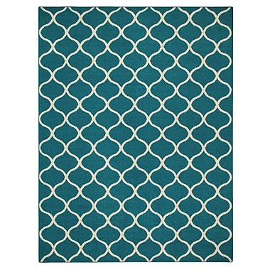Maples Rugs Carissa Blue Area Rug; 7' x 10'