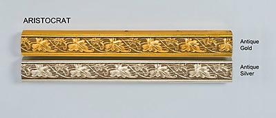 Afina Signature Retro 33'' x 23'' Recessed Medicine Cabinet; Aristocrat Antique Gold