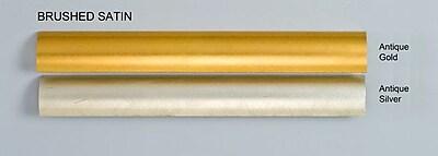 Afina Signature Retro 33'' x 23'' Recessed Medicine Cabinet; Brushed Satin Gold
