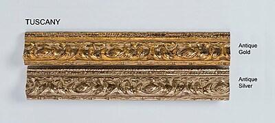 Afina Signature Retro Recessed Medicine Cabinet; Tuscany Antique Gold