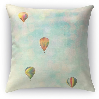 Kavka Floating Throw Pillow; 16'' H x 16'' W x 5'' D