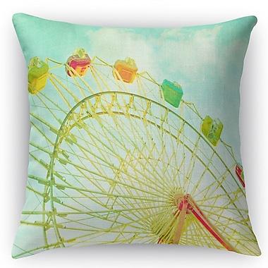 Kavka Summer Sky Throw Pillow; 16'' H x 16'' W x 5'' D