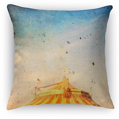 Kavka The Big Top Throw Pillow; 18'' H x 18'' W x 5'' D