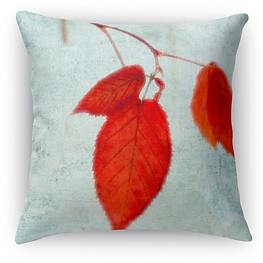 Kavka The Last Leaves Throw Pillow; 24'' H x 24'' W x 5'' D