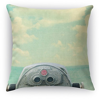 Kavka Way Out There Throw Pillow; 18'' H x 18'' W x 5'' D