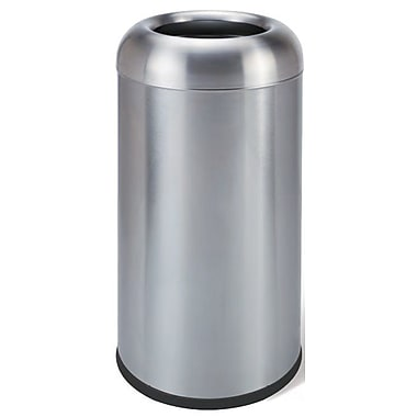 CosmopolitanFurniture Stainless Steel 11 Gallon Trash Can