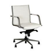 Brayden Studio Leo Desk Chair; White