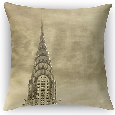 Kavka Skyline Throw Pillow; 16'' H x 16'' W x 5'' D