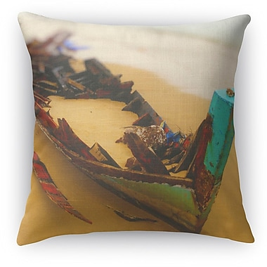 Kavka Stranded Throw Pillow; 18'' H x 18'' W x 5'' D