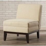 Brayden Studio Mayberry Slipper Chair; Wheat
