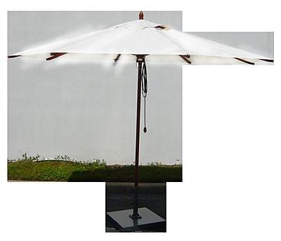 Greencorner 11' Market Umbrella; Natural