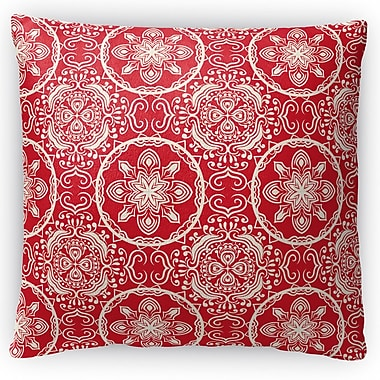 Kavka Christmas in Plaid Throw Pillow; 16'' H x 16'' W x 4'' D