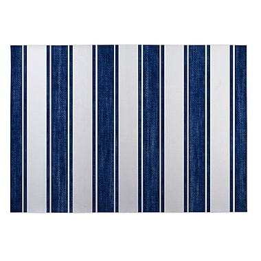 Breakwater Bay Ayleen Stripe Doormat; 4' x 5'