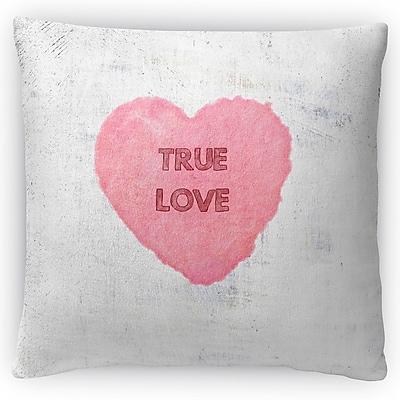 Kavka True Love Throw Pillow; 16'' H x 16'' W x 4'' D