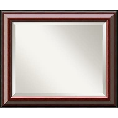 Darby Home Co Rectangle Mahogany Wall Mirror