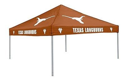Logo Brands Collegiate Burnt Orange Tent - Texas