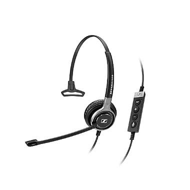 Sennheiser – Micro-casque SC 630 USB ML haut de gamme, filaire, binaural, Skype pour entreprises, contrôle d'appel intégré