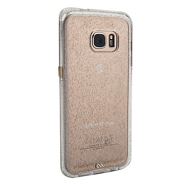 Case-Mate Sheer Glam Case for Galaxy S7 Edge, Champagne (CM033994)