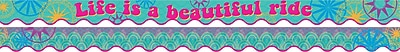 Barker Creek Bohemian Double-sided Scalloped Trim, 39-ft of scalloped trim per package (BC909)