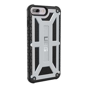UAG - Étui Monarch pour iPhone 7 Plus, platine (IPH7/6HAUTS-M-GR)