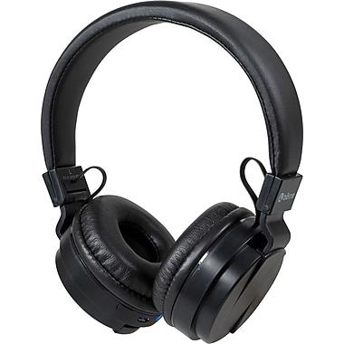 Borne - Casque d'écoute sans fil supra-auriculaire Bluetooth avec microphone
