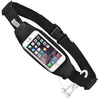 Avantree – Sac de taille Sports pour téléphone cellulaire, noir (KSAM 006P BLK)