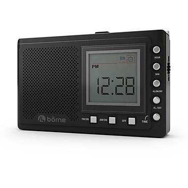 borne radio portative 12 bandes pr1200sw avec syntoniseur num rique. Black Bedroom Furniture Sets. Home Design Ideas