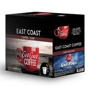 East Coast Coffee - Gale Force, intense, 24 capsules K-Cup, recyclable