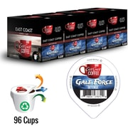 East Coast Coffee - Gale Force, intense, 96 capsules K-Cup, recyclable