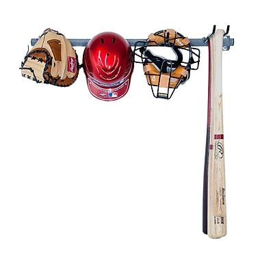 Monkey Bar 5 Baseball Small Wall Mounted Sports Rack