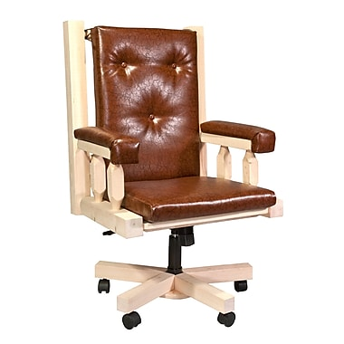 Loon Peak Abella Bankers Chair; Lacquered