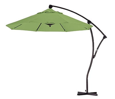 California Umbrella 9' Cantilever Umbrella; Kiwi WYF078276994111