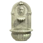 Zingz & Thingz Regal Lion Fiberglass Wall Fountain