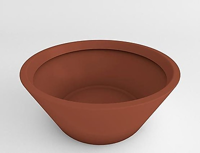 TerraCastProducts Resin Pot Planter; Mexican Chili