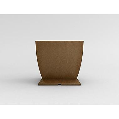 TerraCastProducts Resin Pot Planter; Brazilian Terracotta